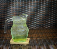 Jabłczanego soku soda Fotografia Stock