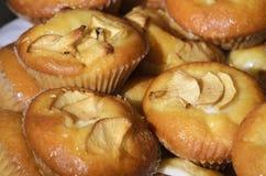 Jabłczani muffins Obraz Stock