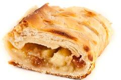 jabłczany apfelstrudel kulebiak Zdjęcie Royalty Free