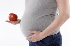 jabłczany brzuch Zdjęcie Stock
