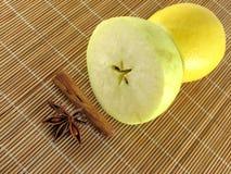 jabłczany cynamon Zdjęcia Stock