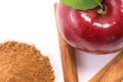 jabłczany cynamon Obraz Stock