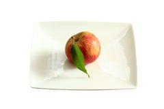 jabłczany deserowy talerz Zdjęcie Royalty Free