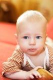 jabłczany dziecko Zdjęcie Royalty Free
