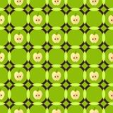 Jabłczany geometryczny wzór Obraz Stock