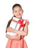 Jabłczany iPad jako urodzinowy prezent Obraz Royalty Free