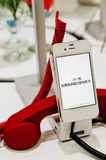 jabłczany iphone Obrazy Royalty Free
