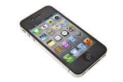 jabłczany iphone Obrazy Stock