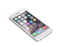 Jabłczany iPhone 6 Fotografia Stock