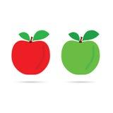 Jabłczany kolor w kolorowym Obraz Stock