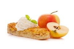 jabłczany kulebiak Zdjęcia Stock
