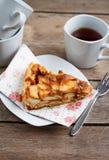 Jabłczany kulebiak Fotografia Royalty Free