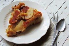Jabłczany kulebiak, tarta Zdjęcie Stock