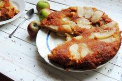 Jabłczany kulebiak, tarta Zdjęcie Royalty Free