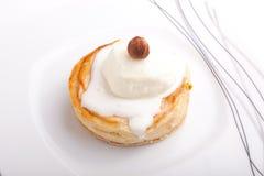 Jabłczany kulebiak z lody Zdjęcia Royalty Free