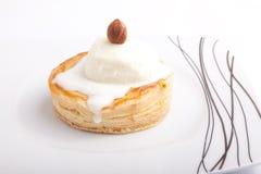 Jabłczany kulebiak z lody Obrazy Royalty Free