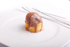 Jabłczany kulebiak z lody Obraz Royalty Free