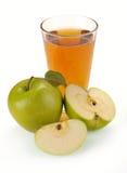 jabłczany owocowy sok Fotografia Stock