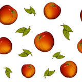 Jabłczany seamess wzór Obrazy Stock