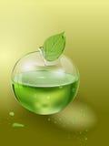 Jabłczany sok ilustracja wektor