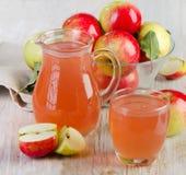 Jabłczany sok zdjęcie stock