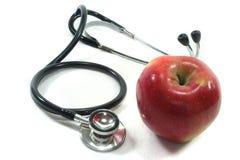 jabłczany stetoskop Obrazy Royalty Free