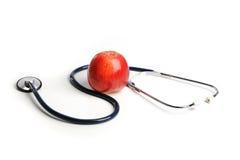 jabłczany stetoskop Zdjęcia Stock