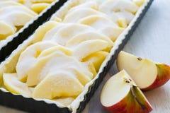 Jabłczany tarta Fotografia Stock