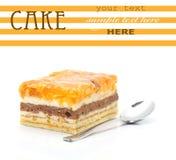 jabłczany tort Obraz Royalty Free