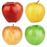 jabłek koloru set Zdjęcie Royalty Free
