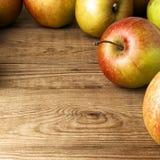 jabłka czerwoni Fotografia Stock