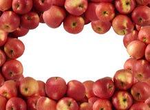 jabłka czerwoni Zdjęcie Royalty Free