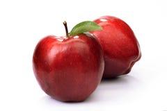 jabłka czerwoni Obraz Royalty Free