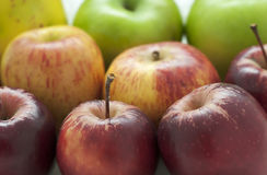 jabłka heirloom Zdjęcia Stock