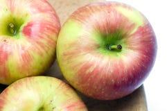 jabłka honeycrisp Zdjęcia Royalty Free