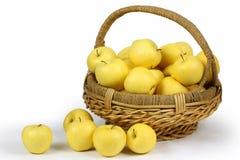 jabłka koszykowi Obraz Stock
