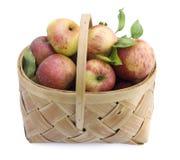 jabłka koszykowi Zdjęcie Royalty Free