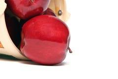 jabłka koszykowi Fotografia Stock