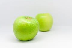 jabłka odizolowane Fotografia Royalty Free