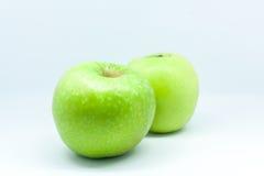 jabłka odizolowane Zdjęcie Stock