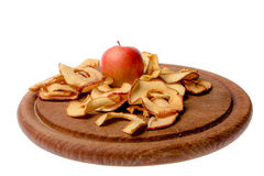 jabłka, suszone Zdjęcie Royalty Free