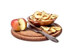 jabłka, suszone Zdjęcia Stock