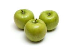 jabłka trzy Obraz Royalty Free