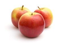jabłka trzy Zdjęcia Stock