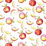 jabłko bezszwowy Obrazy Royalty Free