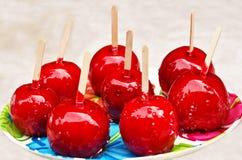 jabłko cukierek Obrazy Stock