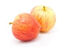 jabłko dwa Zdjęcie Stock