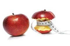 jabłko dwa obrazy royalty free