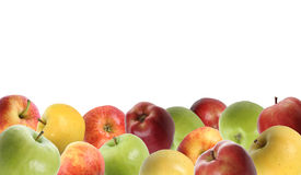 jabłko granica Obraz Royalty Free