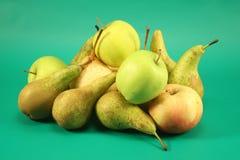 jabłko gruszki Zdjęcie Stock
